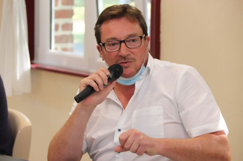 Alain De Carrion, vice-Président du SIVOM de l'Artois en charge de l'insertion sociale