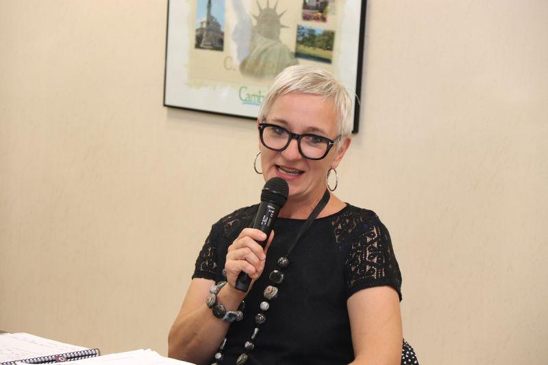 Karine Burzynski de la MDS de Noeux-les-Mines